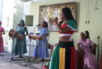 Obini Bata -  the first all female folkloric percussion ensemble in Cuba